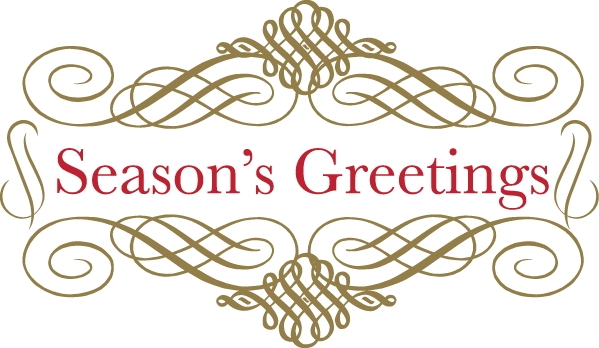 Christmas Seasons Greetings Clip Art.