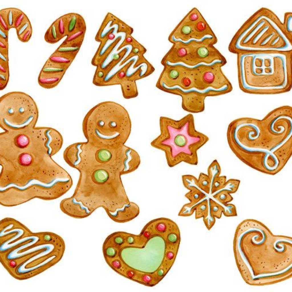 Christmas Cookie Cliparts 10.