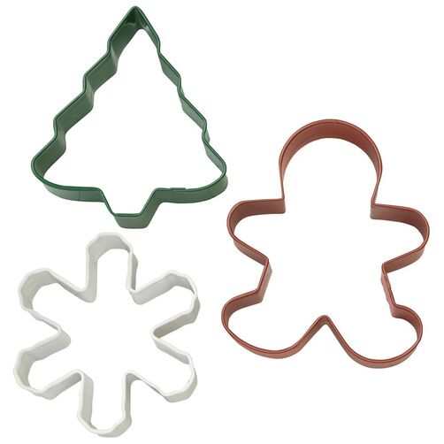 Holiday Cookie Cutter Set, 3.