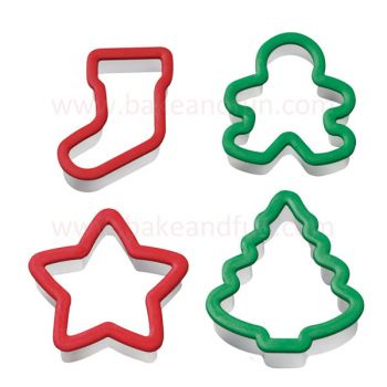 Set 4 Cookie Cutters.