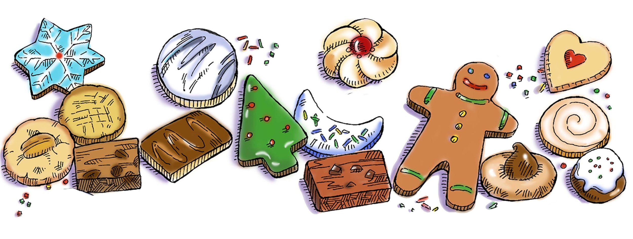 Gingerbread clipart cookie exchange, Gingerbread cookie.