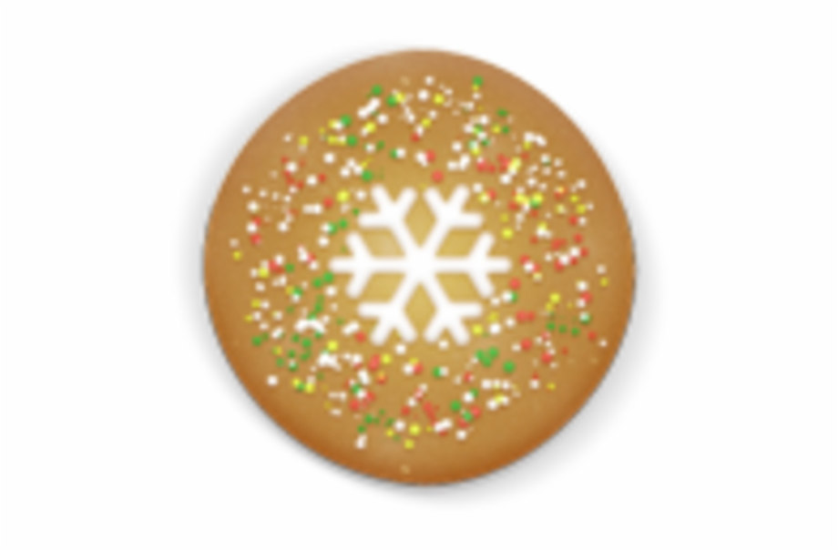 Clip Art Transparent Christmas Cookies Free PNG Images & Clipart.