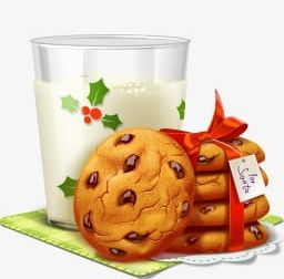 Milk With Cookies Material PNG, Clipart, Biscuit, Celebration.