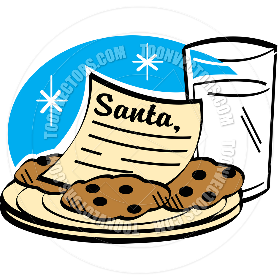 Cookies And Milk Clipart.