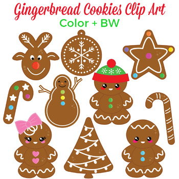 Christmas Cookies Clipart.