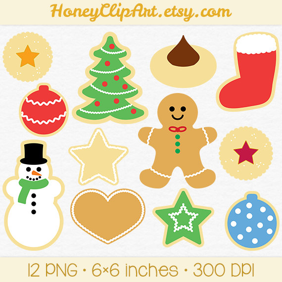 1000 Images About December Muppets Christmas On Pinterest: Christmas Cookies Clipart