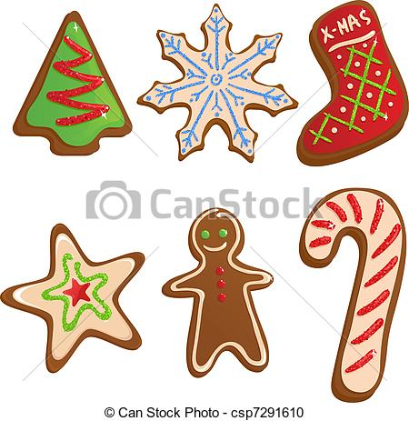 Christmas cookies Illustrations and Clip Art. 7,975 Christmas.