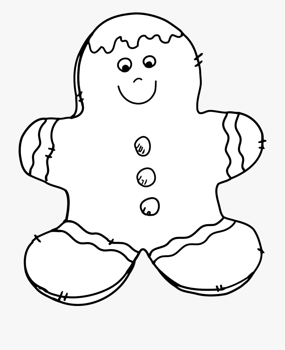 Cookie Clipart Black And White.