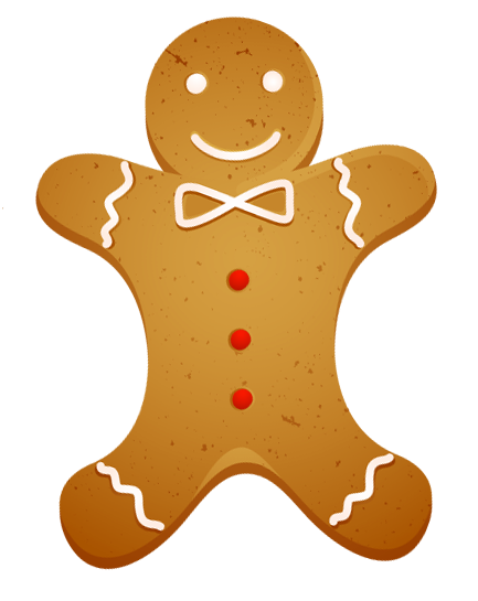 Cookies clipart christmas gingerbread for free download and use.