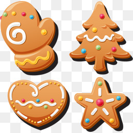 Christmas Cookies PNG Images.