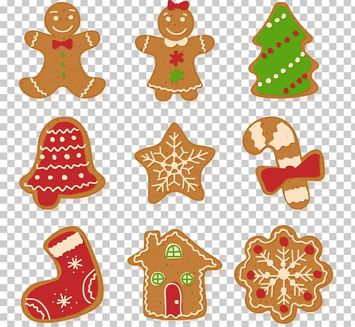 Christmas Cookie Gingerbread Euclidean PNG, Clipart, Biscuits.
