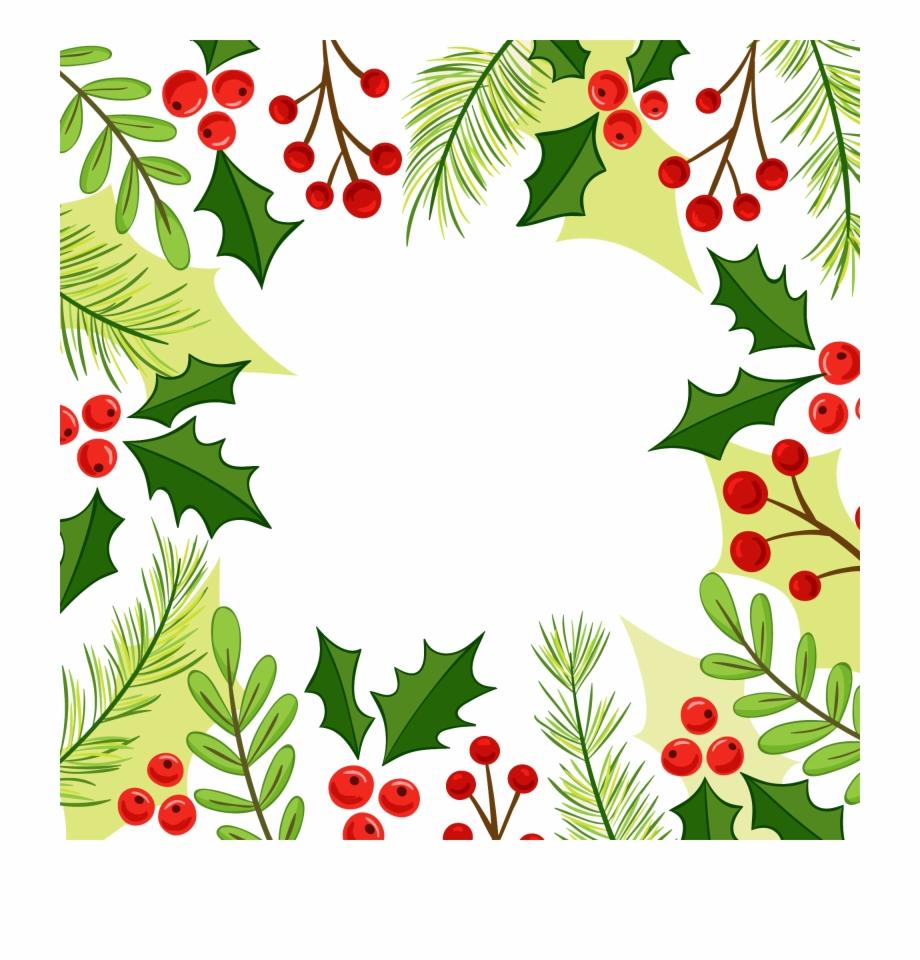Christmas Corner Border Design Clip Art {#352793}.