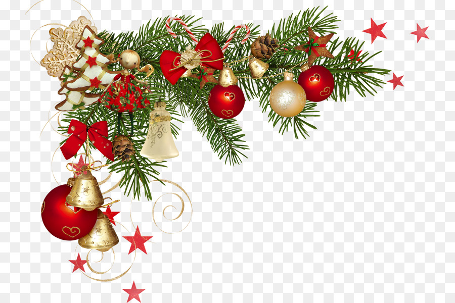 Christmas Tree Branchtransparent png image & clipart free download.