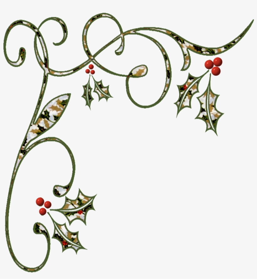 Images Of Christmas Corner Borders Png.