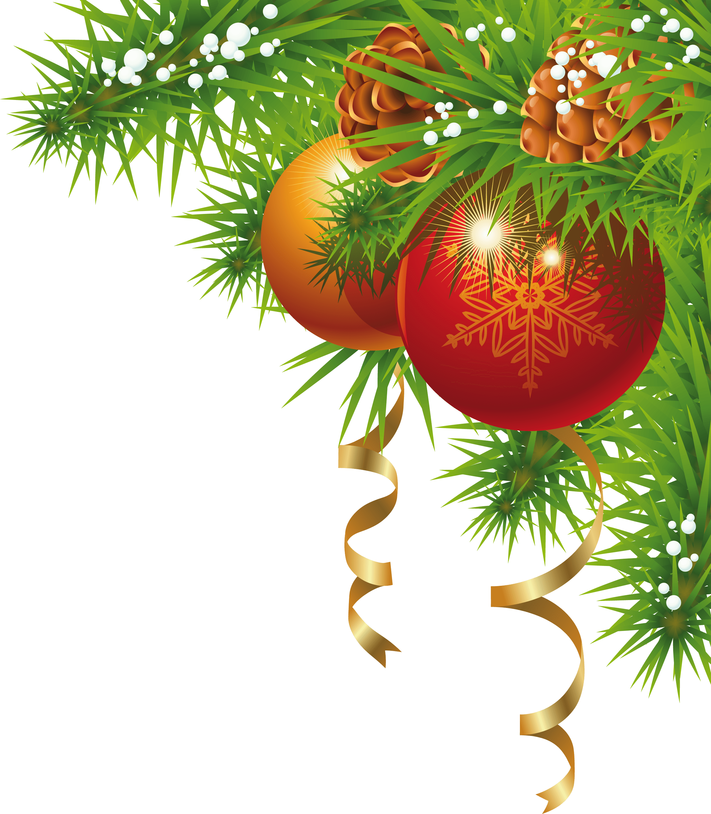 Christmas Small Corner transparent PNG.