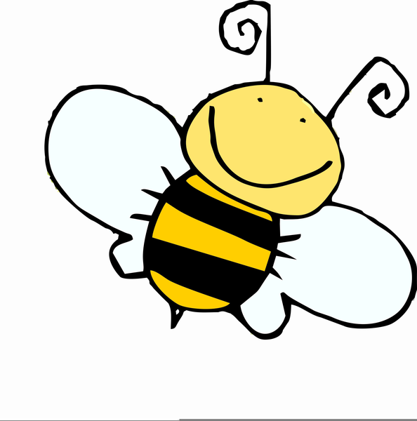 Spelling Bumble Bee Clipart.