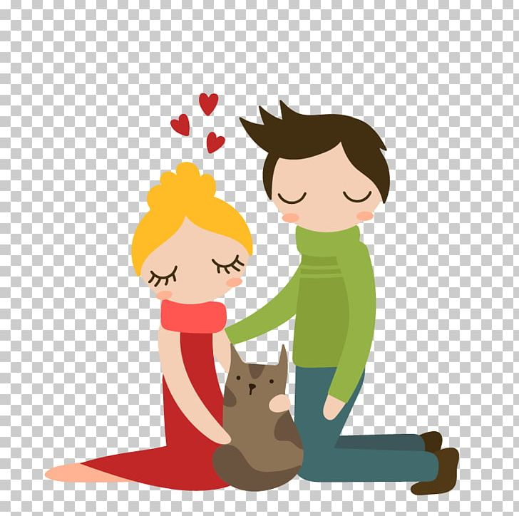 Christmas Tree Family Couple PNG, Clipart, Animals, Art, Boy.