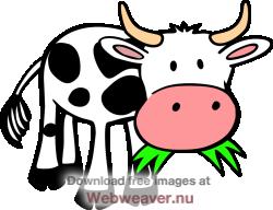 Cartoon Cows Clipart.