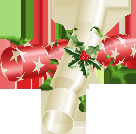 Christmas Cracker Clipart.