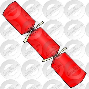 Christmas Crackers Picture for Classroom / Therapy Use.
