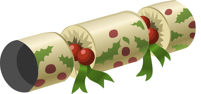 Download Free png Christmas cracker.