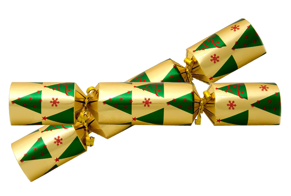 Christmas Crackers transparent image.