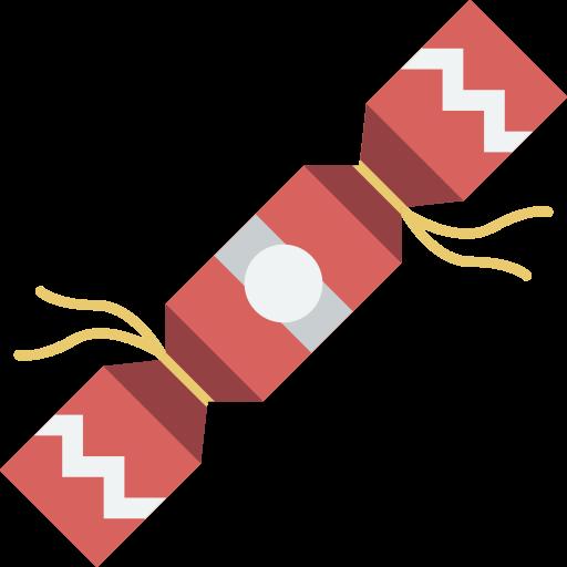 Christmas, cracker, xmas icon.