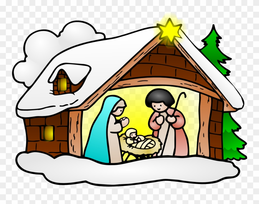 Free Clip Art Baby Jesus Christmas Clipartfest.