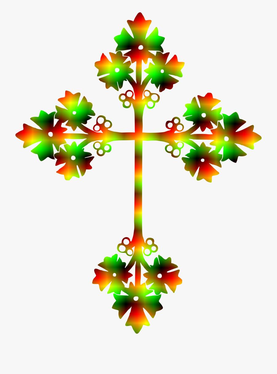 Cross Clipart Christmas.