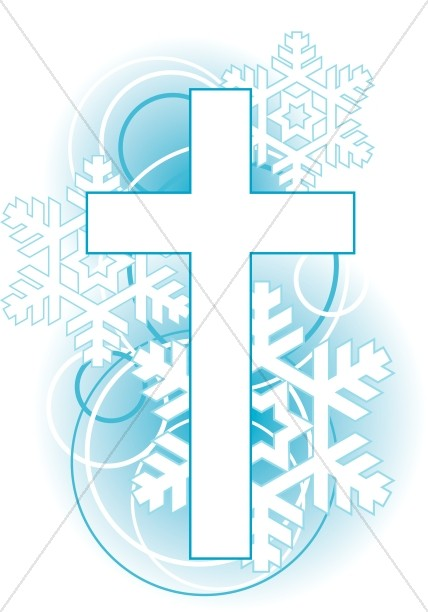 Christmas Cross Clipart.