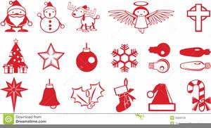 Free Christmas Cross Clipart.