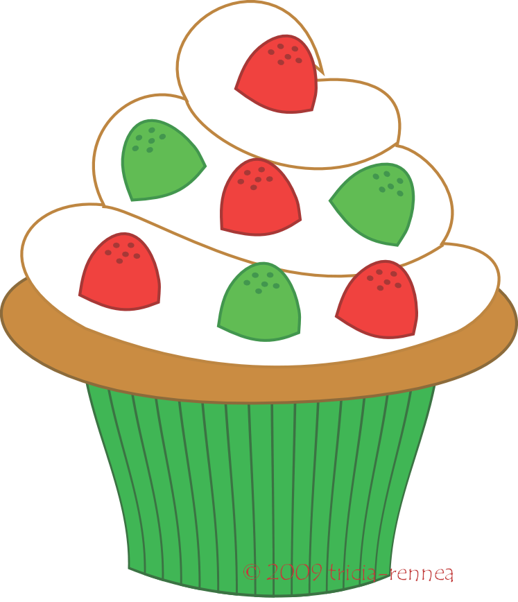 Cupcake clipart free large images 2.
