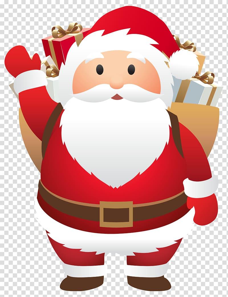 Santa Claus illustration, Santa Claus Christmas , Cute Santa.