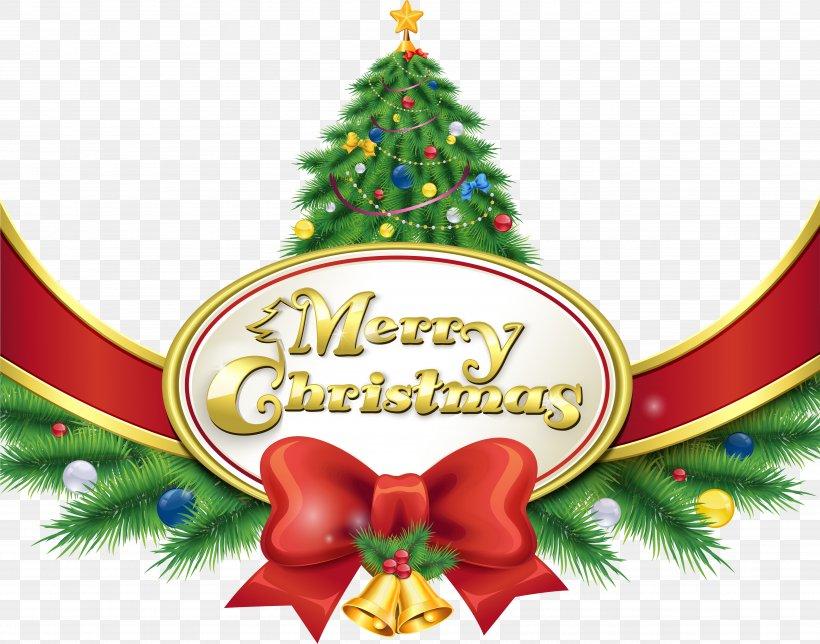 Santa Claus Christmas Day Clip Art Christmas Tree, PNG.