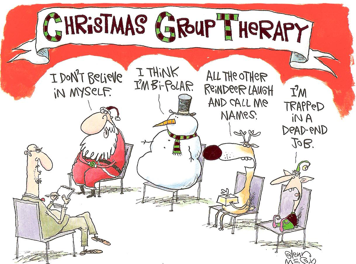 Christmas Day Funny Clipart.