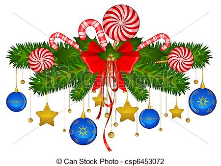 Christmas decor clip art free.
