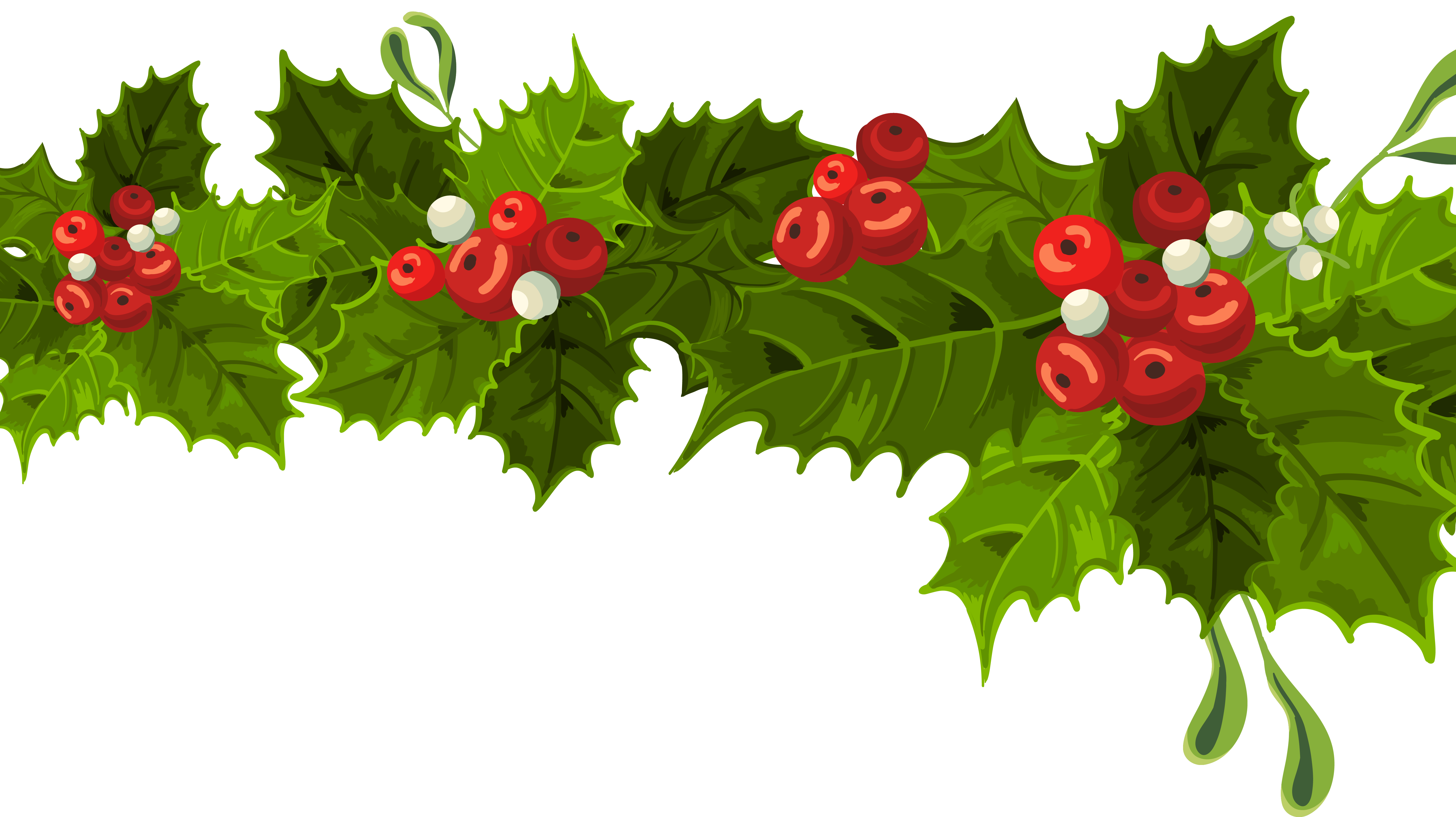 Christmas decorating clipart.
