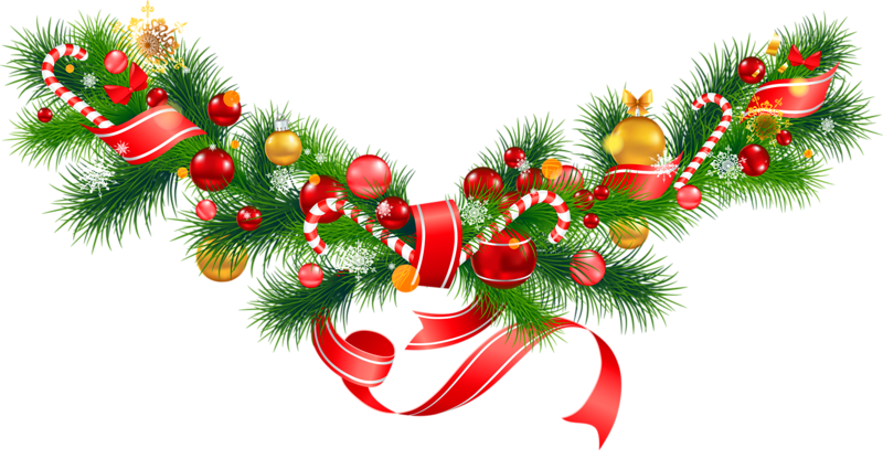 Christmas decorations clipart #5