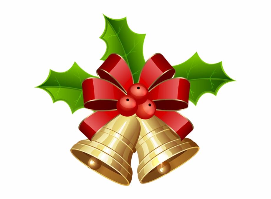 Christmas Decorations Clipart Christmas Bells Transparent.