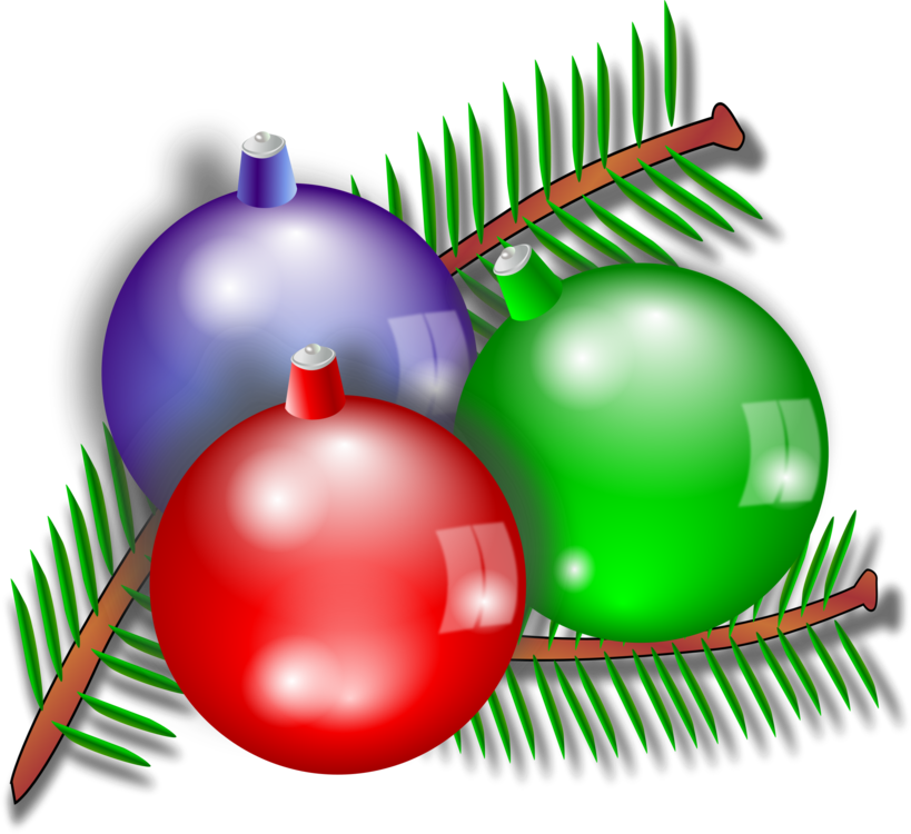 Christmas Ornament,Grass,Tree Vector Clipart.