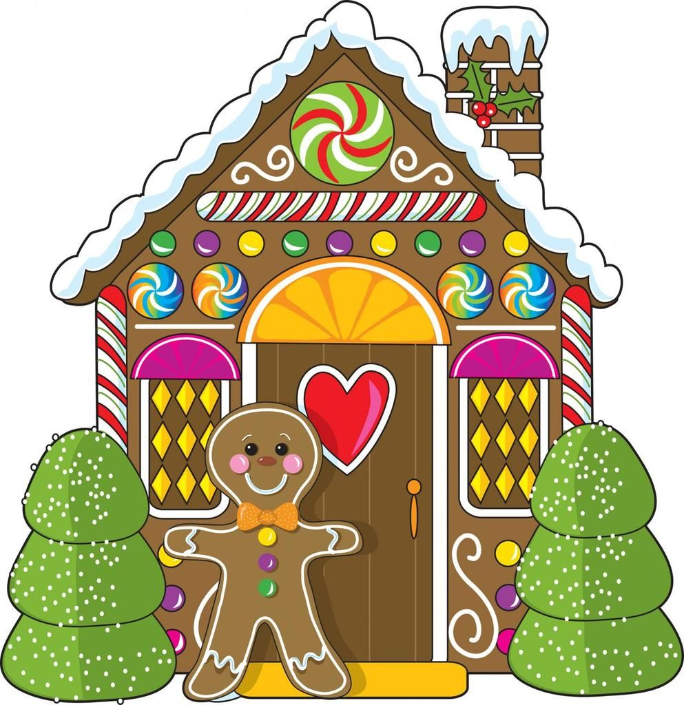 Gingerbread House and Man Wall Decal in 2019.