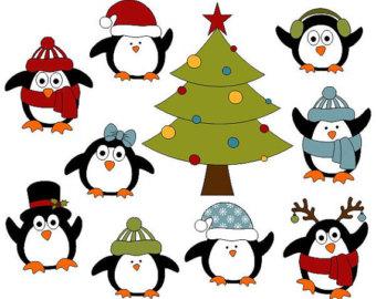 Retro Christmas Decoration Clip Art New Year Digital.