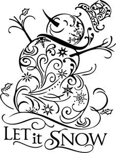 Christmas decorations clipart black and white 2 » Clipart Portal.