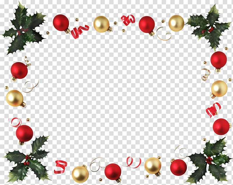 Christmas decoration Frames Santa Claus Desktop , christmas border.