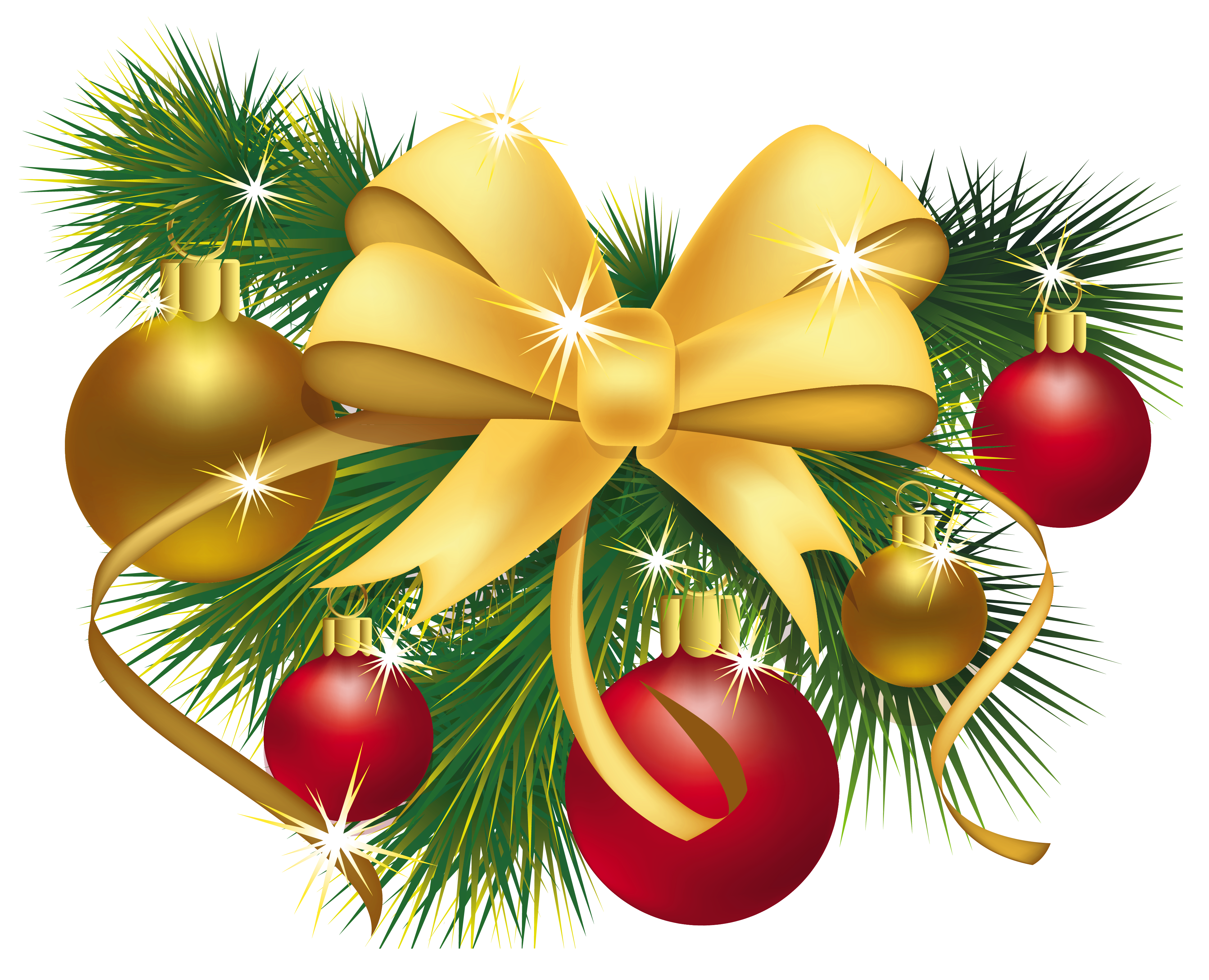 Free christmas decorations clipart.