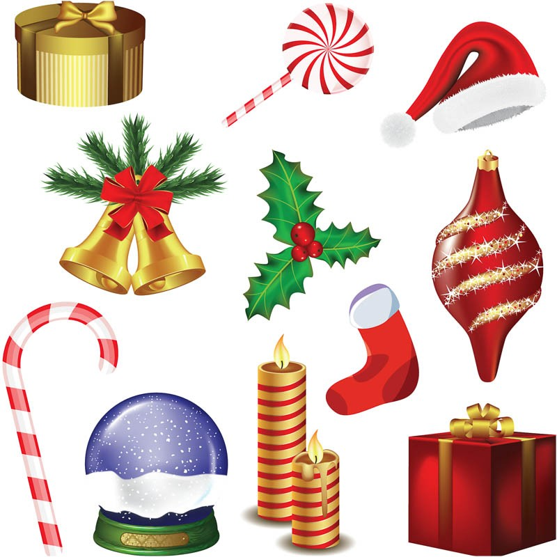 Christmas Decoration Clipart.