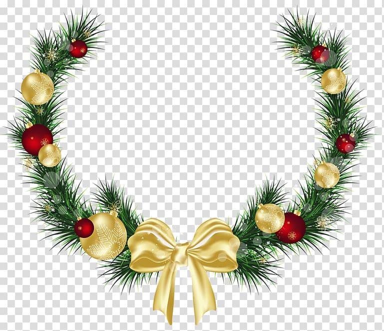 Christmas decoration Christmas ornament , Decorations transparent.