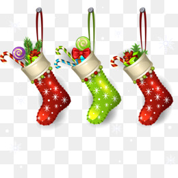 Christmas Decoration Material PNG Images.