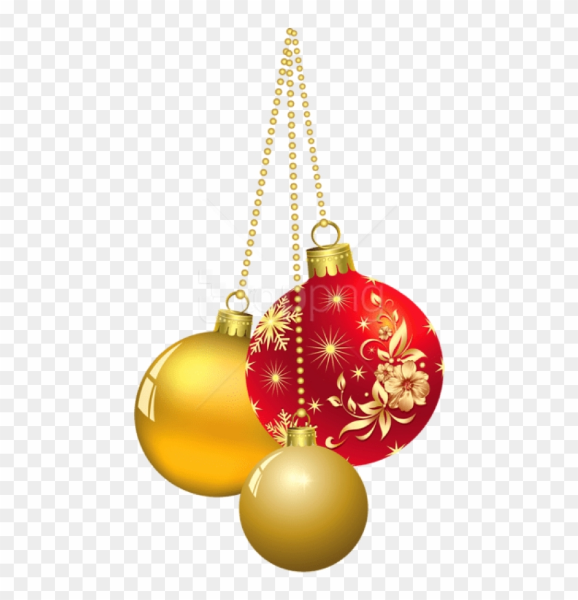 Free Png Transparent Christmas Ornaments Png Images.
