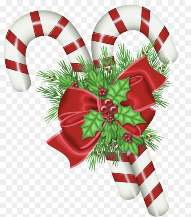 Candy Cane,Christmas Ornament,Christmas Decoration Transparent PNG.